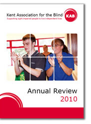 Kent Association for the Blind Annual Review